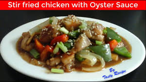Stir Fried Chicken with Oyster Sauce ...