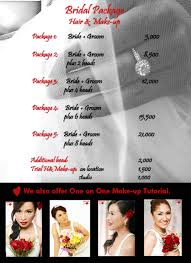 wedding makeup artist philippines rates