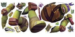 York Wallcoverings Tmnt Donatello Giant Wall Decal