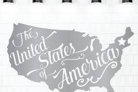 Patriotic Vinyl Decals Usa Themed Home Decor For Freedom Loving Americans