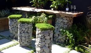 gabion baskets and garden landscaping