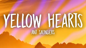 ant saunders yellow hearts s