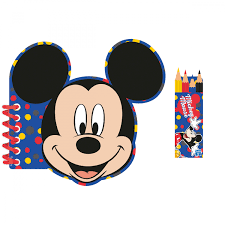Activity Coloring Kit Mickey Mouse 4 Parts : Amscan Europe