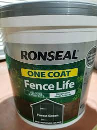 Johnstone S Woodcare One Coat Shed Fence Paint Forest Green 9l For Sale Online Ebay