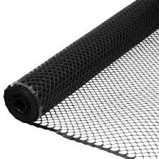 Everbilt 3 4 In X 3 Ft X 25 Ft Black Plastic Poultry Fence 889240eb The Home Depot In 2020 Plastic Fencing Black Chickens Plastic Mesh