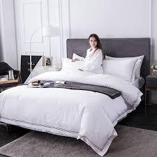 luxury hotel bedding sets 100 cotton