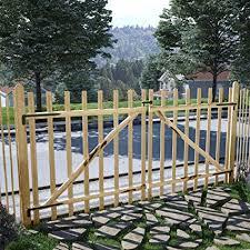 barrier 300x150 cm double fence gate