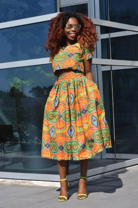 "Image result for nigerians wearing 2 piece crop top"""