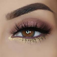 pretty eye makeup for brown eyes cat