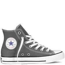 star classic high tops mens grey