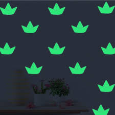 Glow In The Dark Luminous Boat Wall Stickers For Kids Living Room Wall Stickers Waterproof Decals For Toilet Home Decor Wall Decal Designs Wall Decal For Bedroom From Moggoo 34 07 Dhgate Com