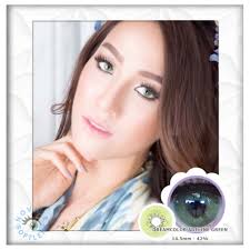 SOFTLENS DREAMCOLOR ADELINE GREEN   Shopee Indonesia