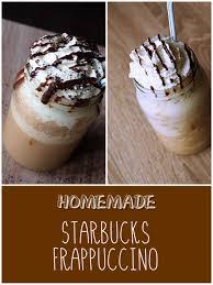 homemade starbucks frappuccinos