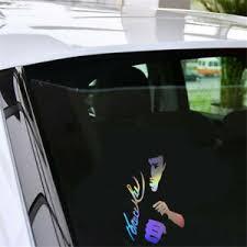 2pcs Bruce Lee Silhouette Car Sticker Window Bumper Vinyl Laptop Motorbike Decal Ebay