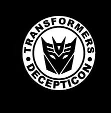 Transformer Decepticon Round Window Decal Sticker Custom Sticker Shop