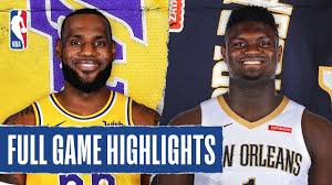 LAKERS at PELICANS | FULL GAME HIGHLIGHTS