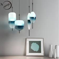 simples luzes pingente moder vidro