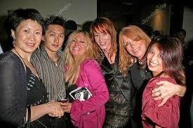 L-R Lisa Gao, Cendra Martel, Jenny McShane, Marilyn Vance and ...