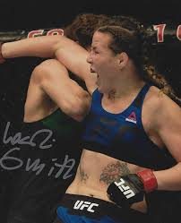 Autographed Leslie Smith UFC & MMA fighter 8x10 photo with COA at Amazon's  Sports Collectibles Store