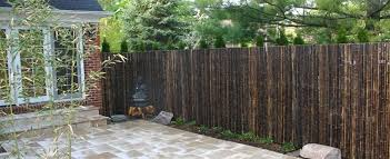 Buy Natural Black Bamboo Fencing Online Forever Bamboo