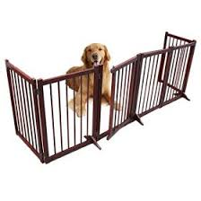 Freestanding Wooden Pet Gate 6 Panel Folding Wooden Fence Dog Puppy Gate For Indoor Hall Doorway Stairs Fits Small The Pet League