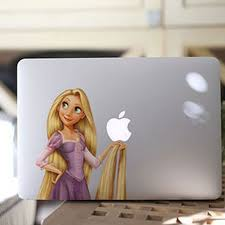Anime Tangled Rapunzel Long Hair Princess Cartoon Vinyl Decal Laptop Stickers For Apple Macbook Air Pro 13 Laptop Skin Cover Laptop Hard Drive Usb Stickers Catsticker Laptop Aliexpress
