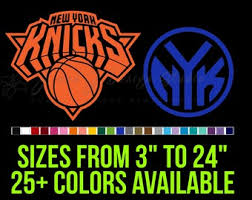 Knicks Decal Etsy