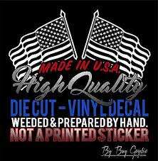 Proud Truckers Wife Vinyl Decal Sticker Hibiscus Custom Car Truck Window Die Cut