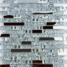 crystal glass mosaic tile waistline
