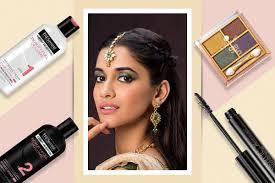 hair makeup look for navratri