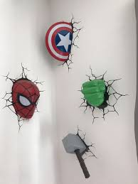 Marvel 3d Wall Lights In L11 Liverpool For 35 00 For Sale Shpock