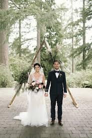 hoyt arboretum wedding in portland