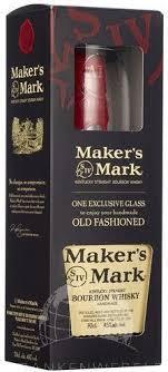 makers mark bourbon gift set