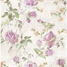 beige green rose trail on cream taupe