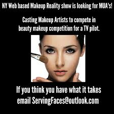 makeup artists for reality pilot