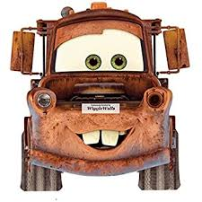 Amazon Com Disney 7 Inch Tow Mater Truck Pixar Cars 2 Movie Removable Wall Decal Sticker Art Home Decor Home Kitchen
