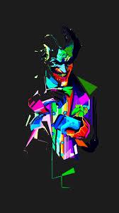 خلفيات ايفون الجوكر جديدة Joker Neon مربع