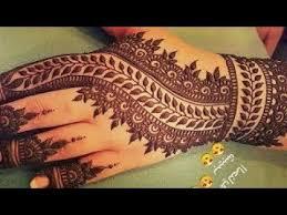 Pakistani Easy Arabic Full Hand Mehndi Design