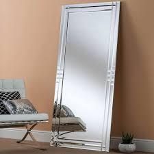 floor standing mirror bevelled