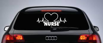 Nurse Symbol Window Car Decal Nurse Car Window Decal Ebay Computer Sticker Car Window Car Window Decals