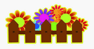 Transparent Fence Clipart Fence With Flowers Clipart Free Transparent Clipart Clipartkey