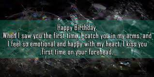 happy birthday wishes quotes for son from mother status wishes