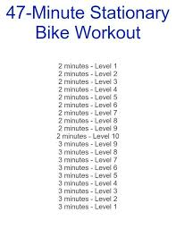 4 stationary bike workouts sole