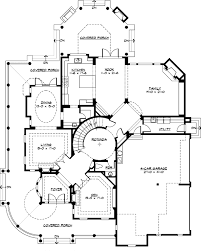 luxury style house plans 5250 square