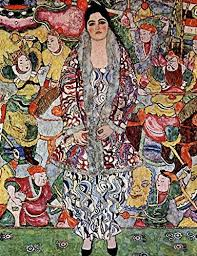 Amazon Com Portrait Of Friederike Maria Beer By Gustav Klimt Wall Decal Peel Stick Removable 20 X 15 Home Kitchen
