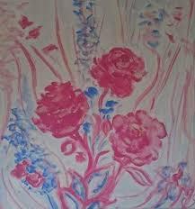 Ethereal deep edge canvas by Myra Thomas | Etsy