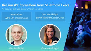 5 Reasons to Come to the Salesforce for Sales Keynote