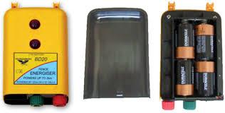 Thunderbird Battery Powered Energisers
