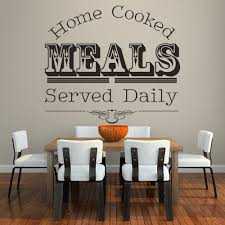 Home Cooked Meals Kitchen Quote Wall Decal Sticker Ws 40869 Ebay