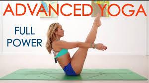 intense yoga flow with kino